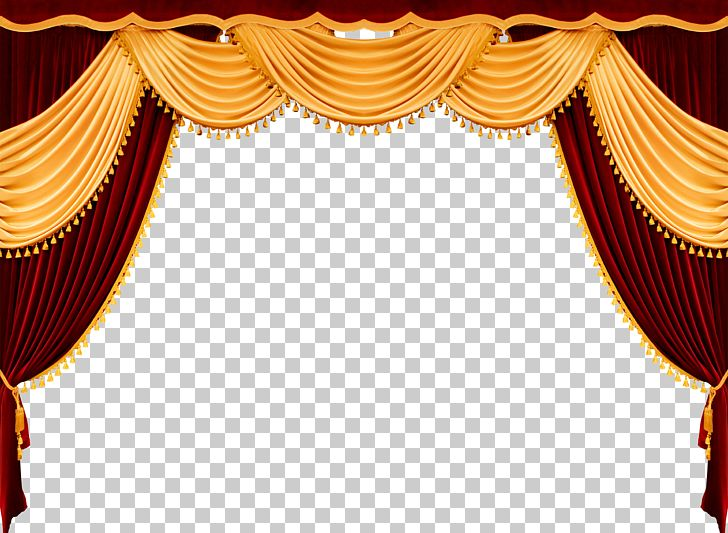 Theater Drapes And Stage Curtains Theatre Front Curtain PNG.