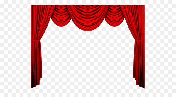 Theater drapes and stage curtains Red Theatre Pattern.