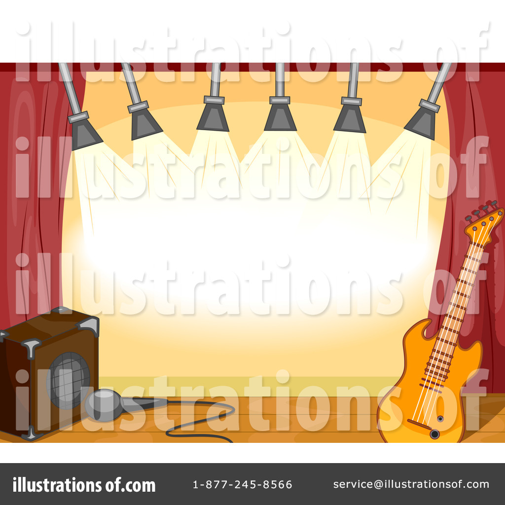 Concert stage clipart.