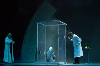 """The Goetheanum Stage: Newly directed production of Goethe's """"Faust."""