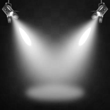 Stage Light Effects With Spotlights Scene, Spot Light, Light.