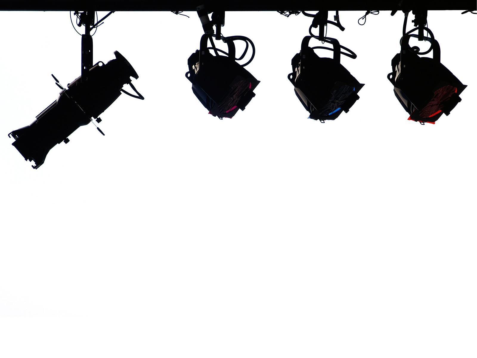 Stage Lights Clipart Black And White.