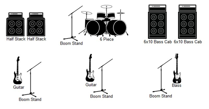 Stage Plot Icon at Vectorified.com.