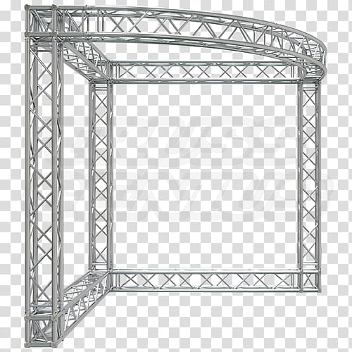 Truss Structure Trade show display Steel Textile, stage.