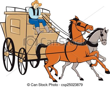 Clipart stagecoach 2 » Clipart Station.