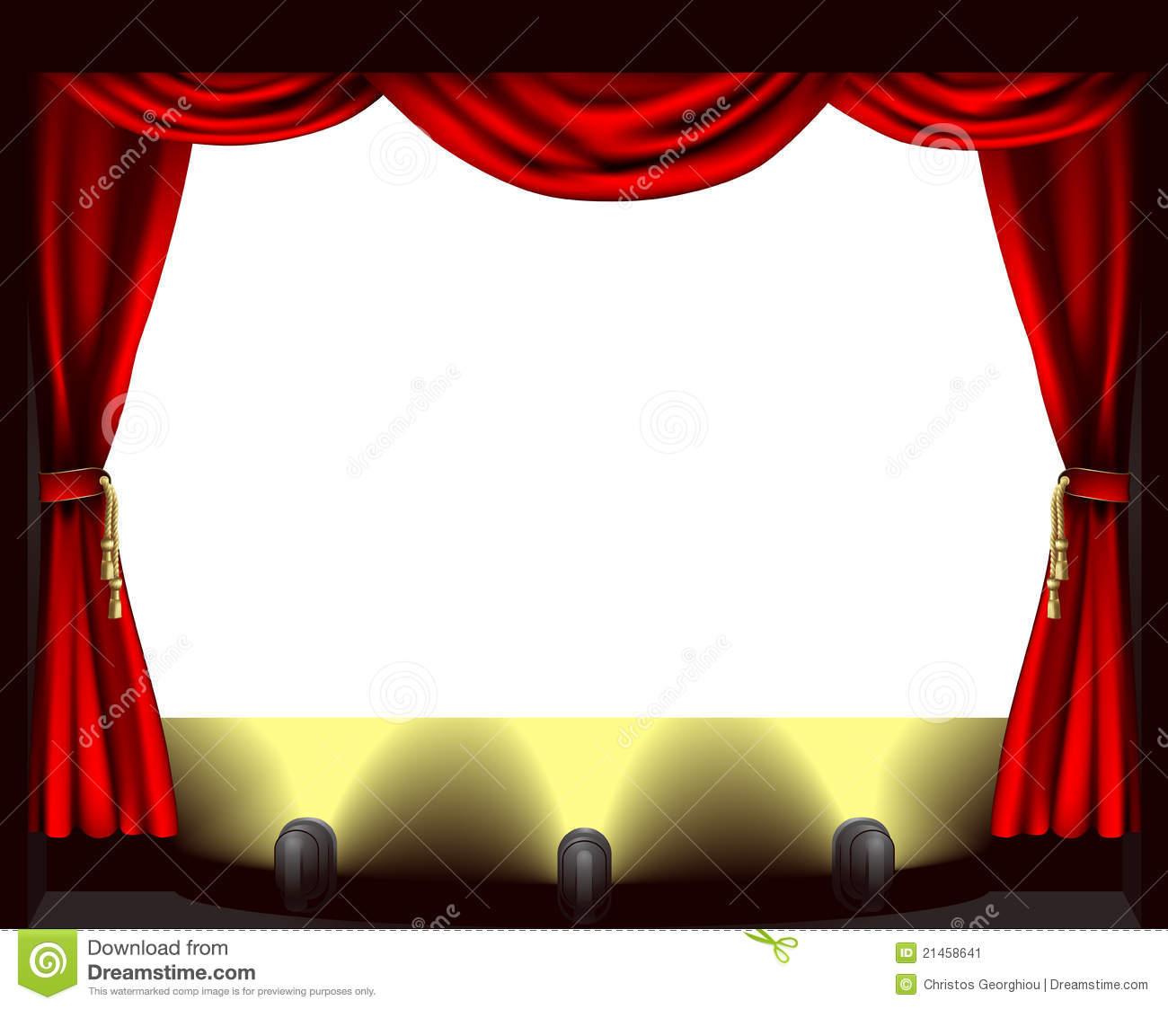 stage footlights images.