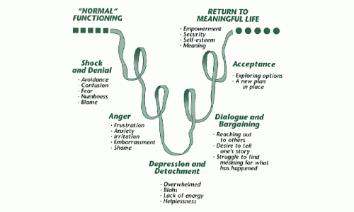 Five Stages of Grief.