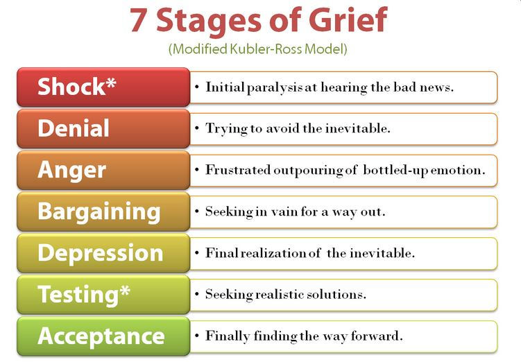 The seven stages of Peak Oil grief. : Peak Oil Discussion.