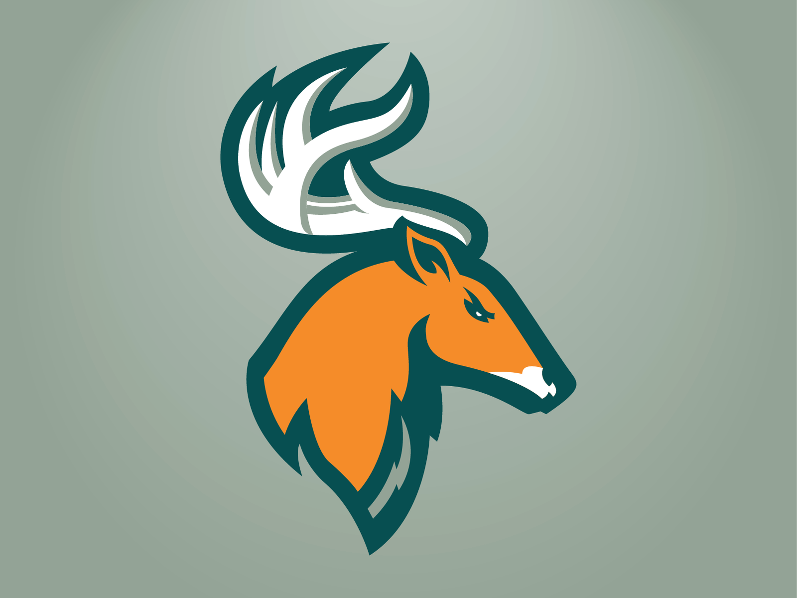 Portland Stags Primary Logo.