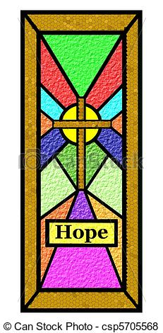 Stained Glass Church Clip Art.
