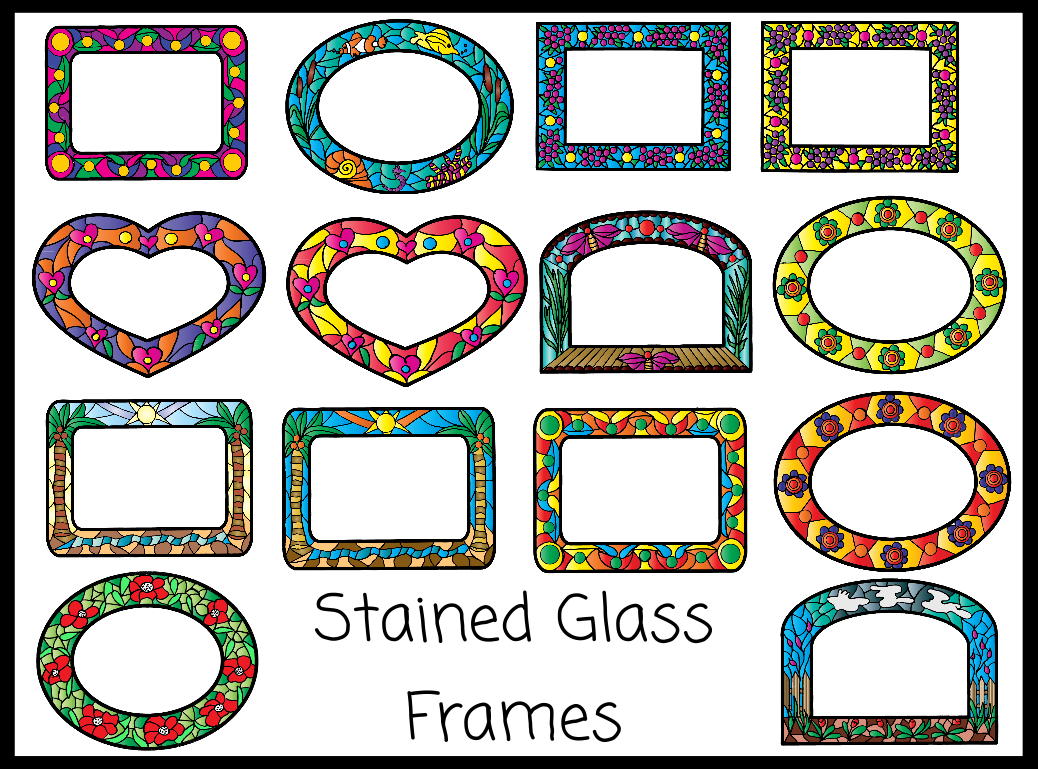 Free Stained Glass Clipart.