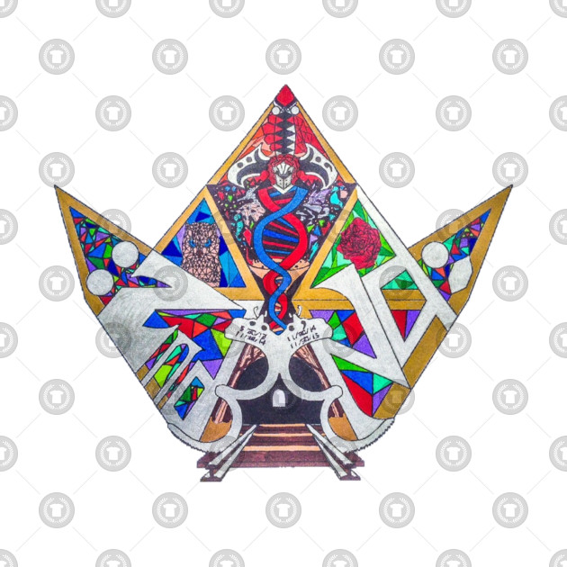 Official :2nd End; Stained Glass Logo.