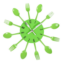 Discount Stainless Steel Kitchen Wall Clocks.