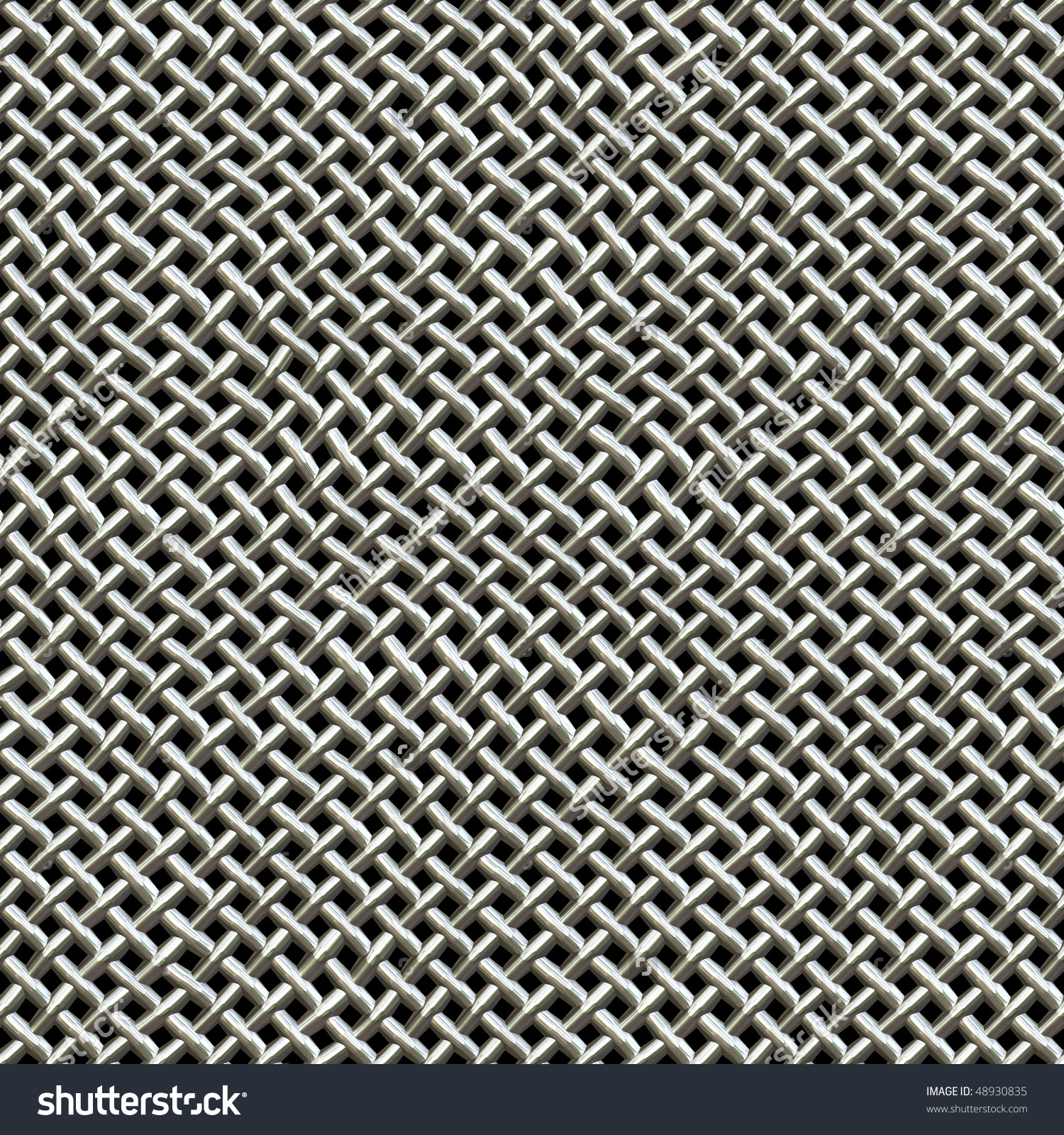 Silver Metal Wire Mesh Texture Found Stock Illustration 48930835.