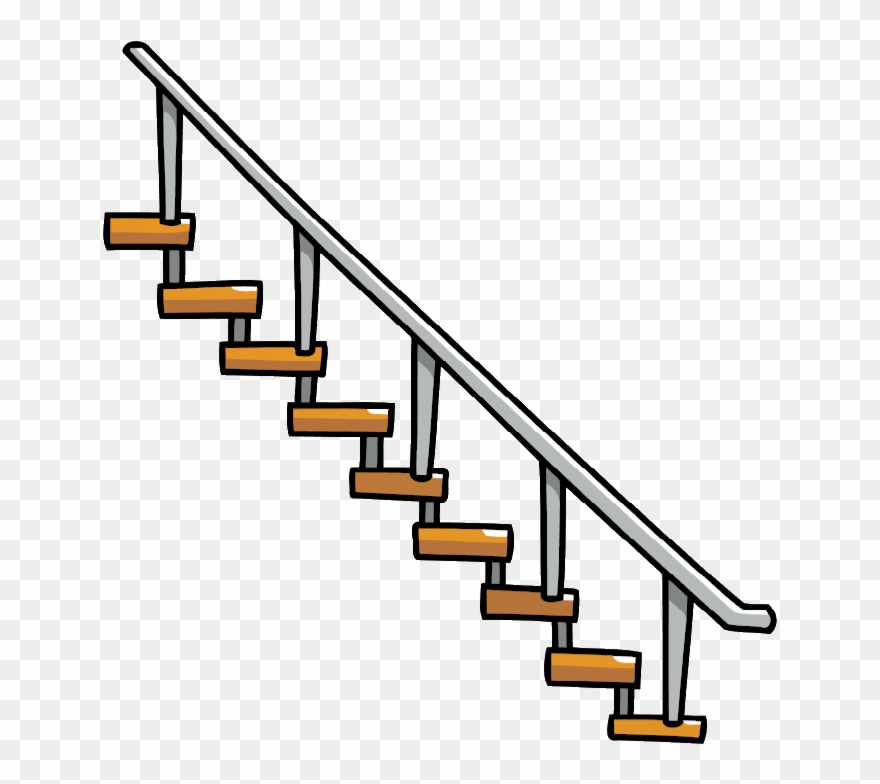 Staircase Vector Transparent.