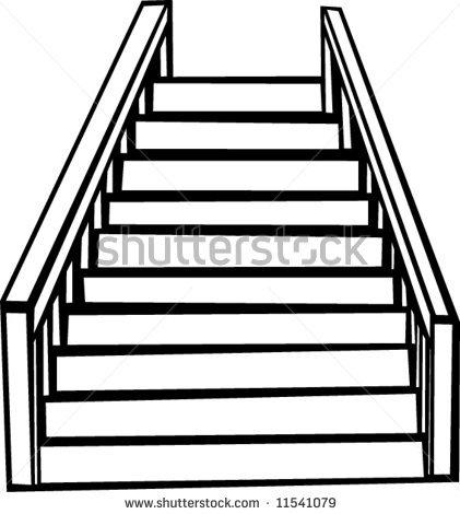 Stair Step Clipart.