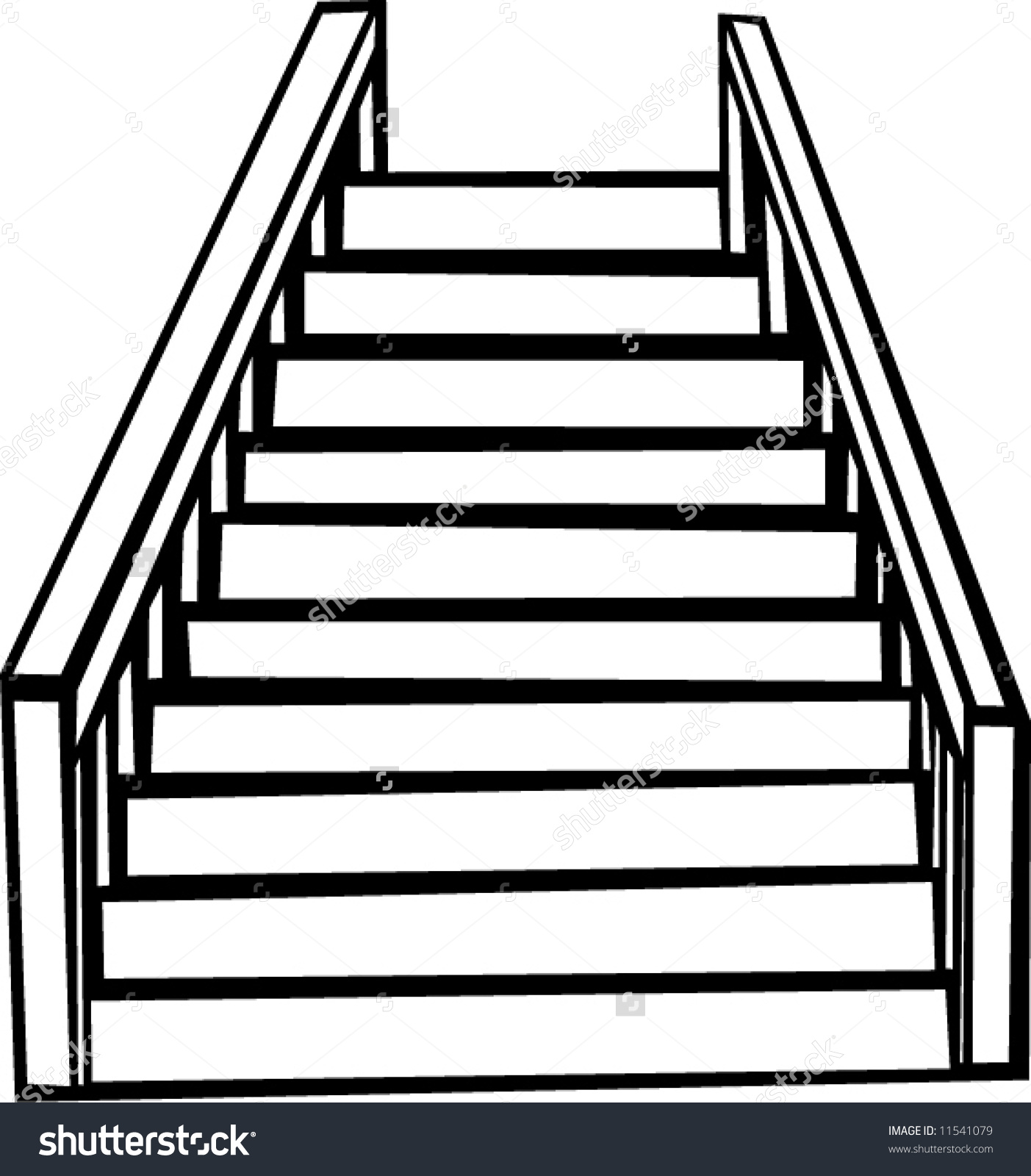 How To Clipart A Staircase.