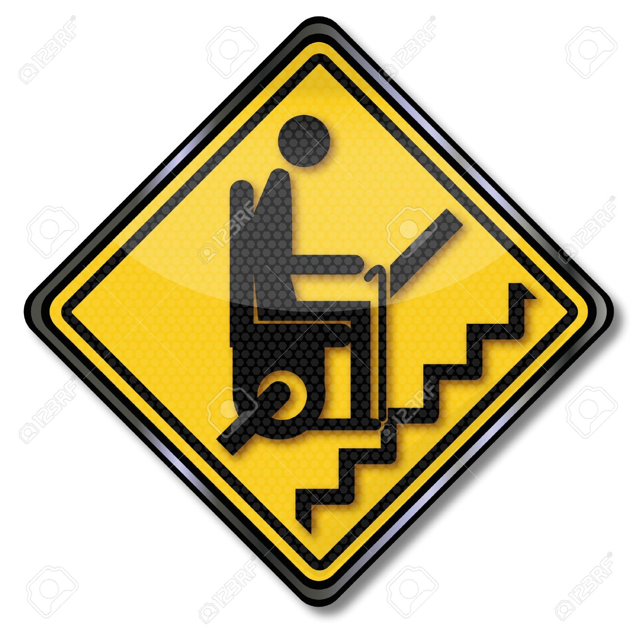 Sign Stairlift For Pensioners Royalty Free Cliparts, Vectors, And.