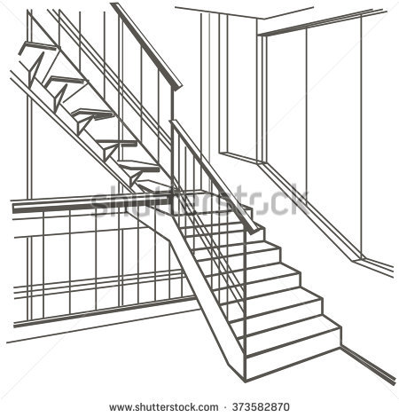 Stairs clipart black and white 11 » Clipart Station.