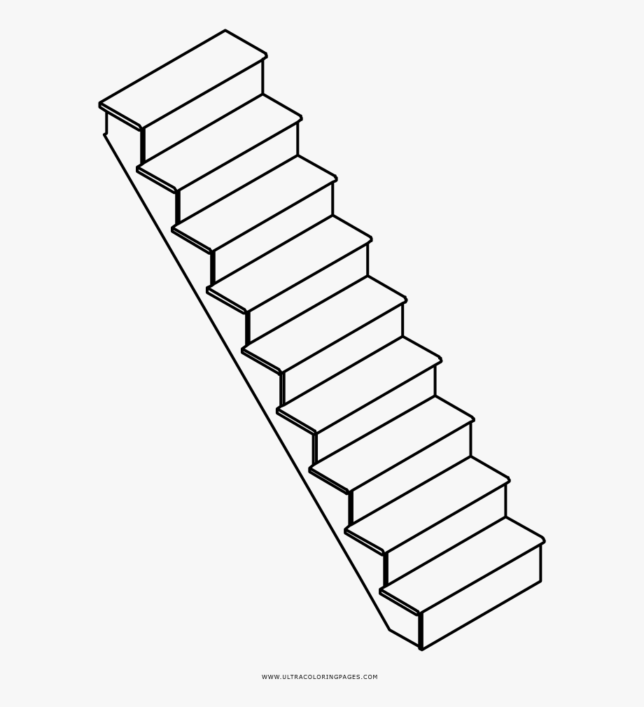Drawing Clipart Stairs.