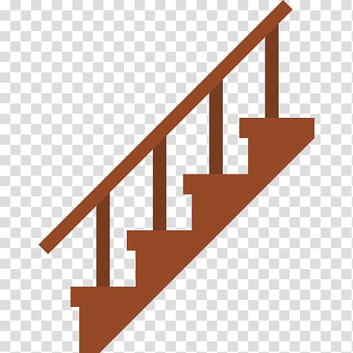Stairs Ladder Computer Icons Handrail, staircase transparent.
