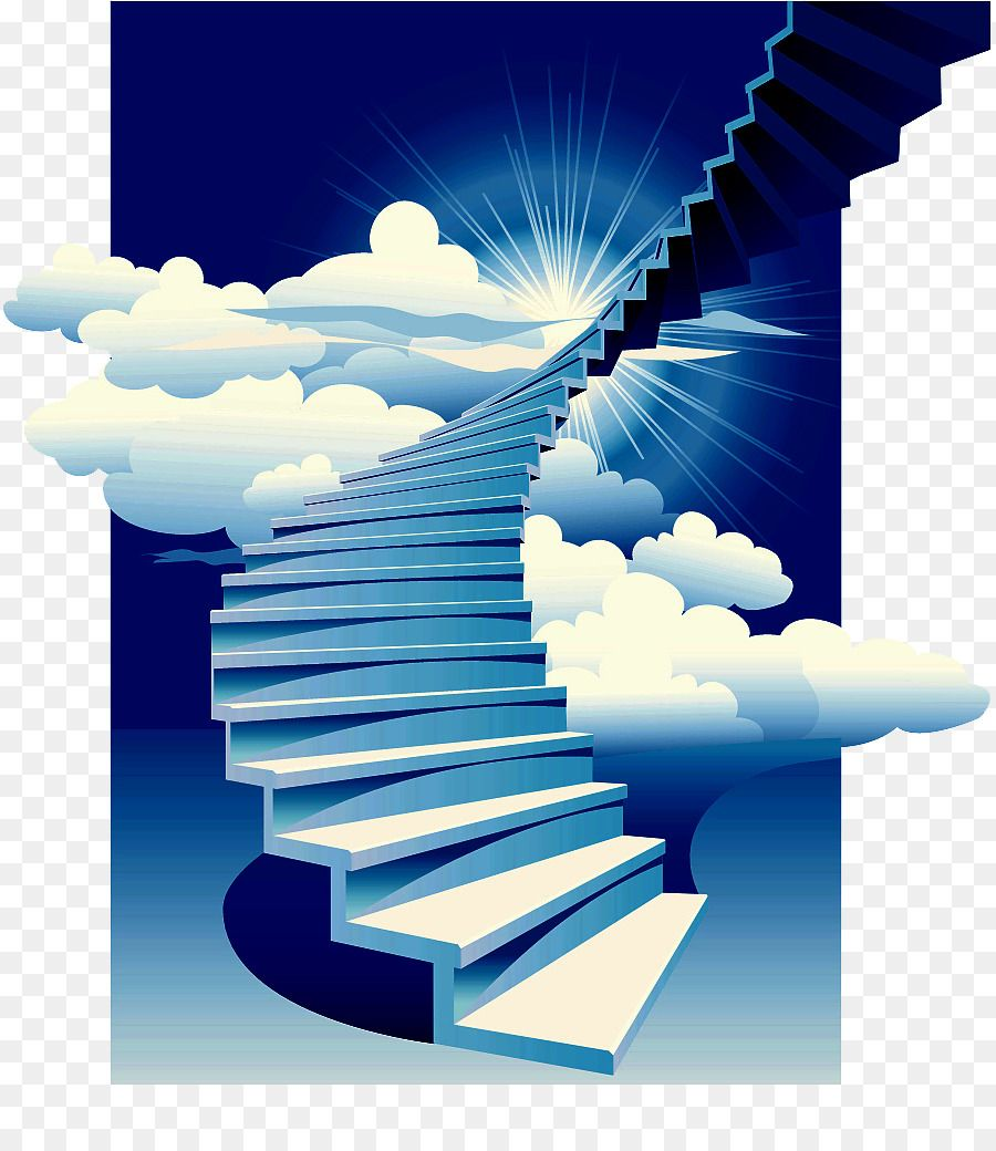 Stairs Stairway to Heaven Building Clip art.