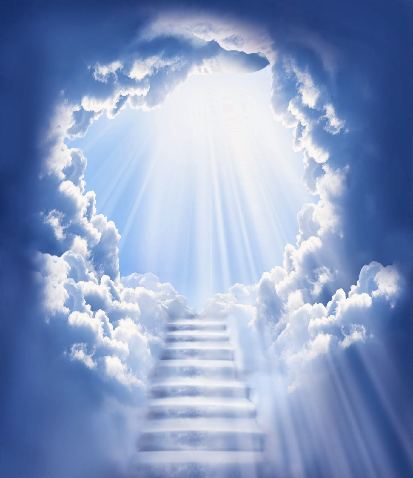 Animated Stairway To Heaven gif.