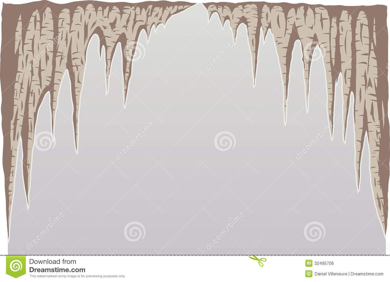 stalagmites clipart