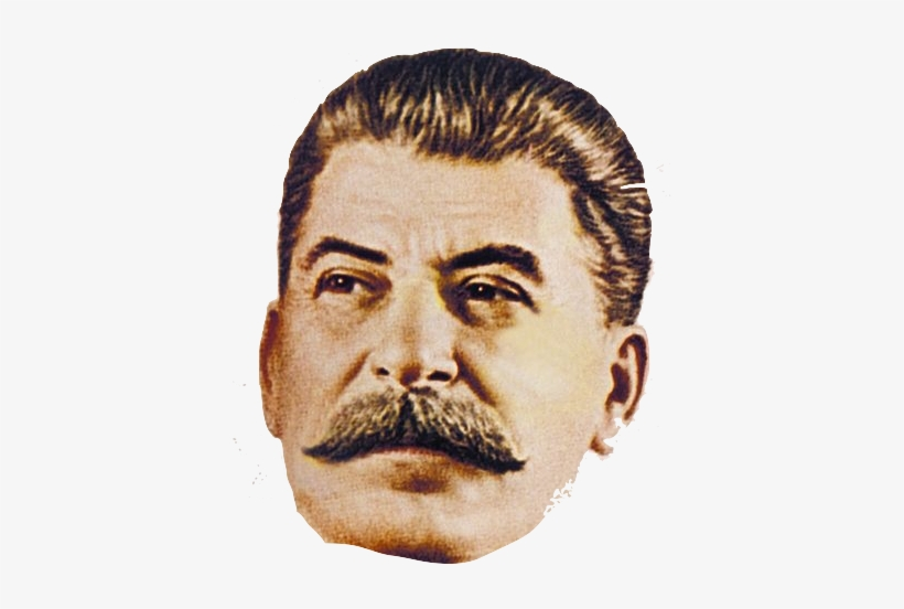 Stalin Face Png.