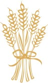 Stalk wheat clipart #8