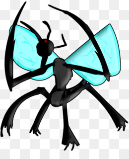 Free download Clip art Insect Cartoon Character Black.