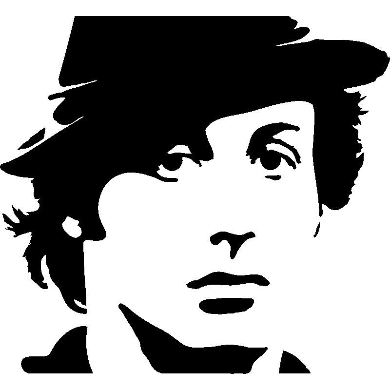 Rocky balboa silhouette clipart images gallery for free.