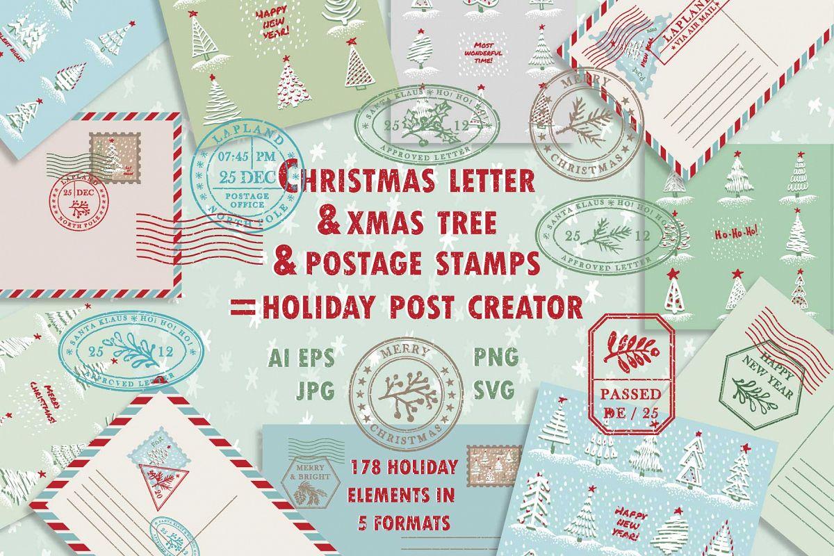 Christmas post creator.