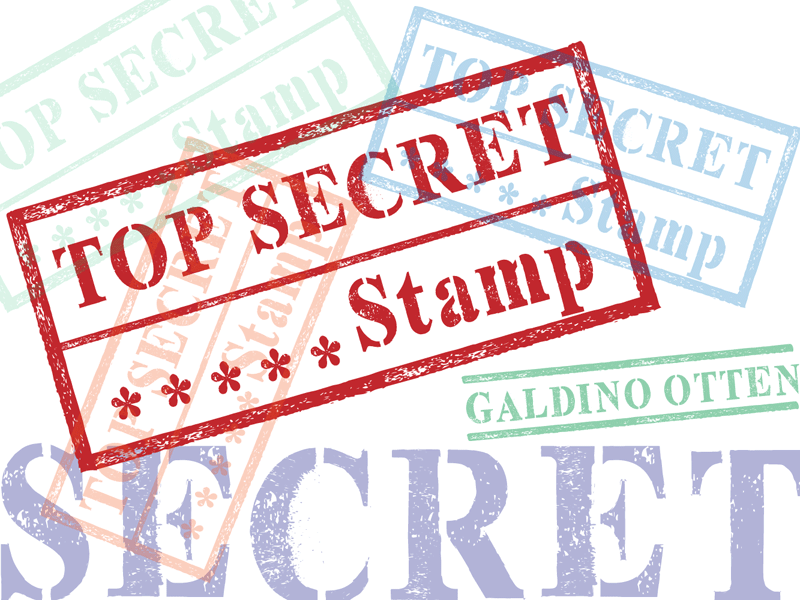 Top Secret Stamp Font.