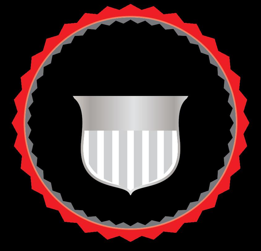 Design Free Logo: Initials stamp Logo Template.