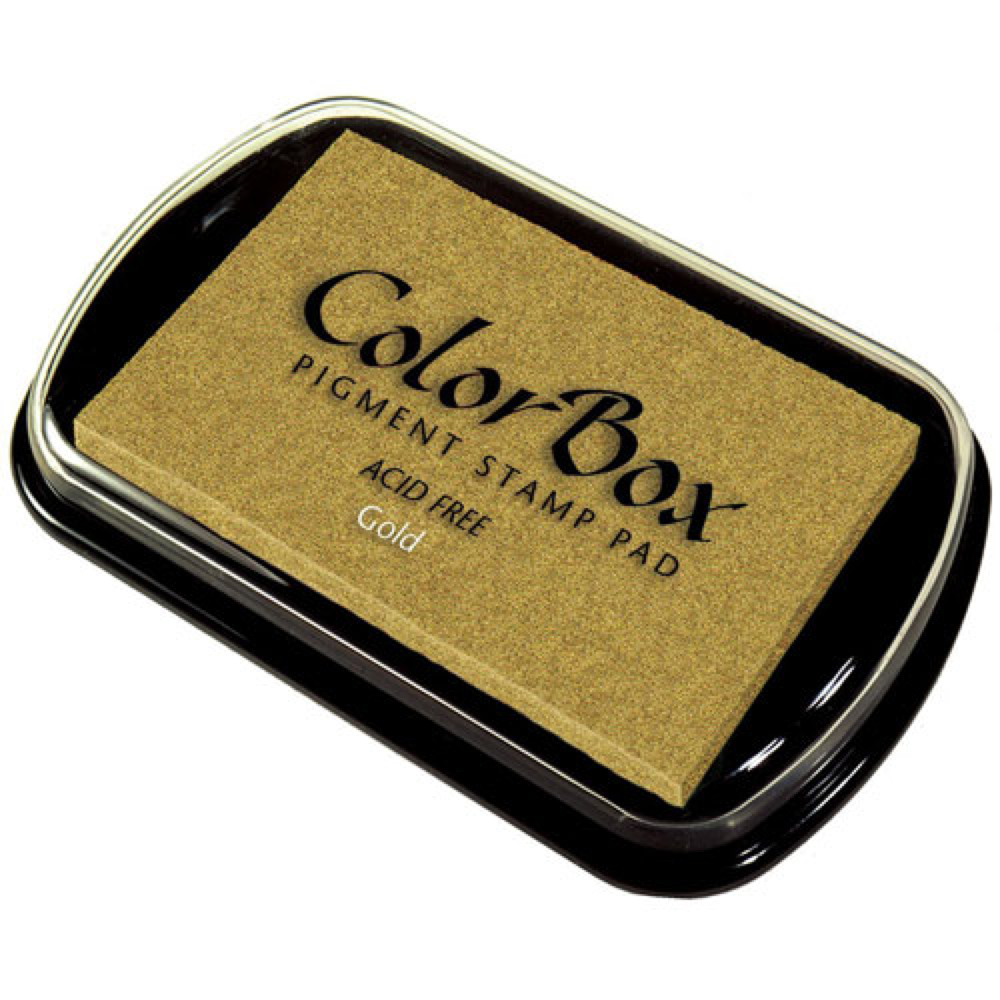 BUY Rubber Stamp Ink Pad Gold Pigment.