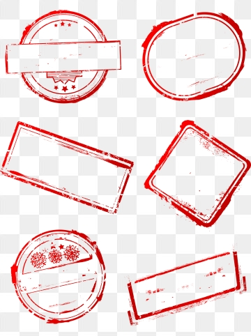 Stamp PNG Images.