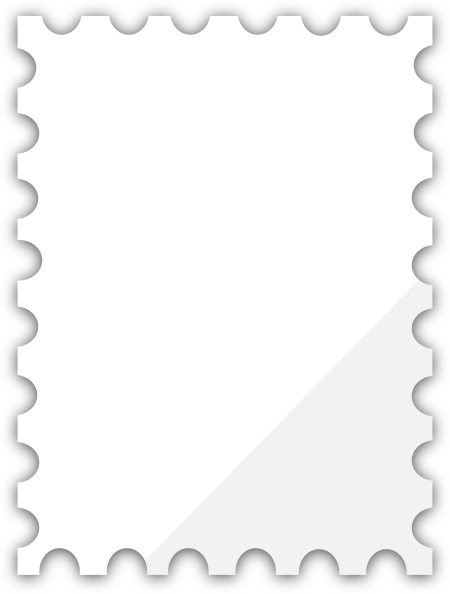 Postage Stamp Template Free.