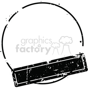 grunge weathered distressed round stamp vector art clipart. Royalty.