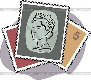 97+ Stamps Clipart.