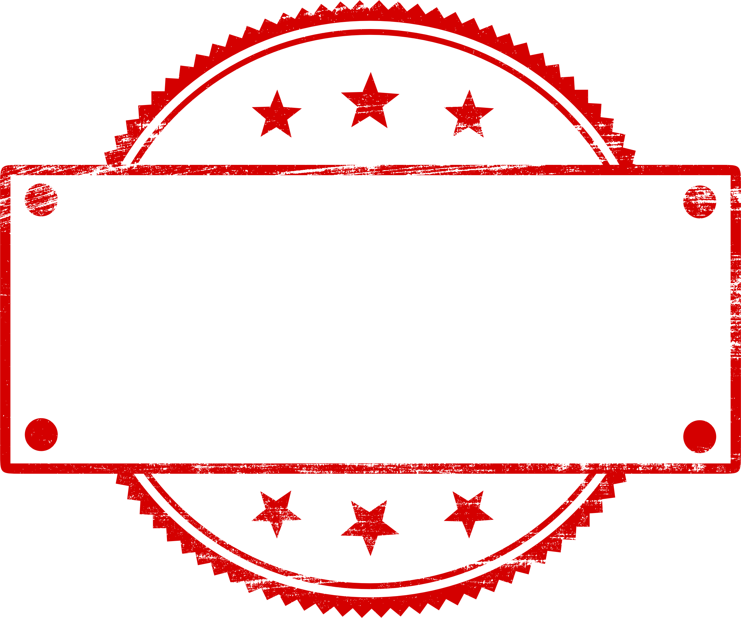 20 Red Empty Stamp Vector (PNG Transparent, SVG).