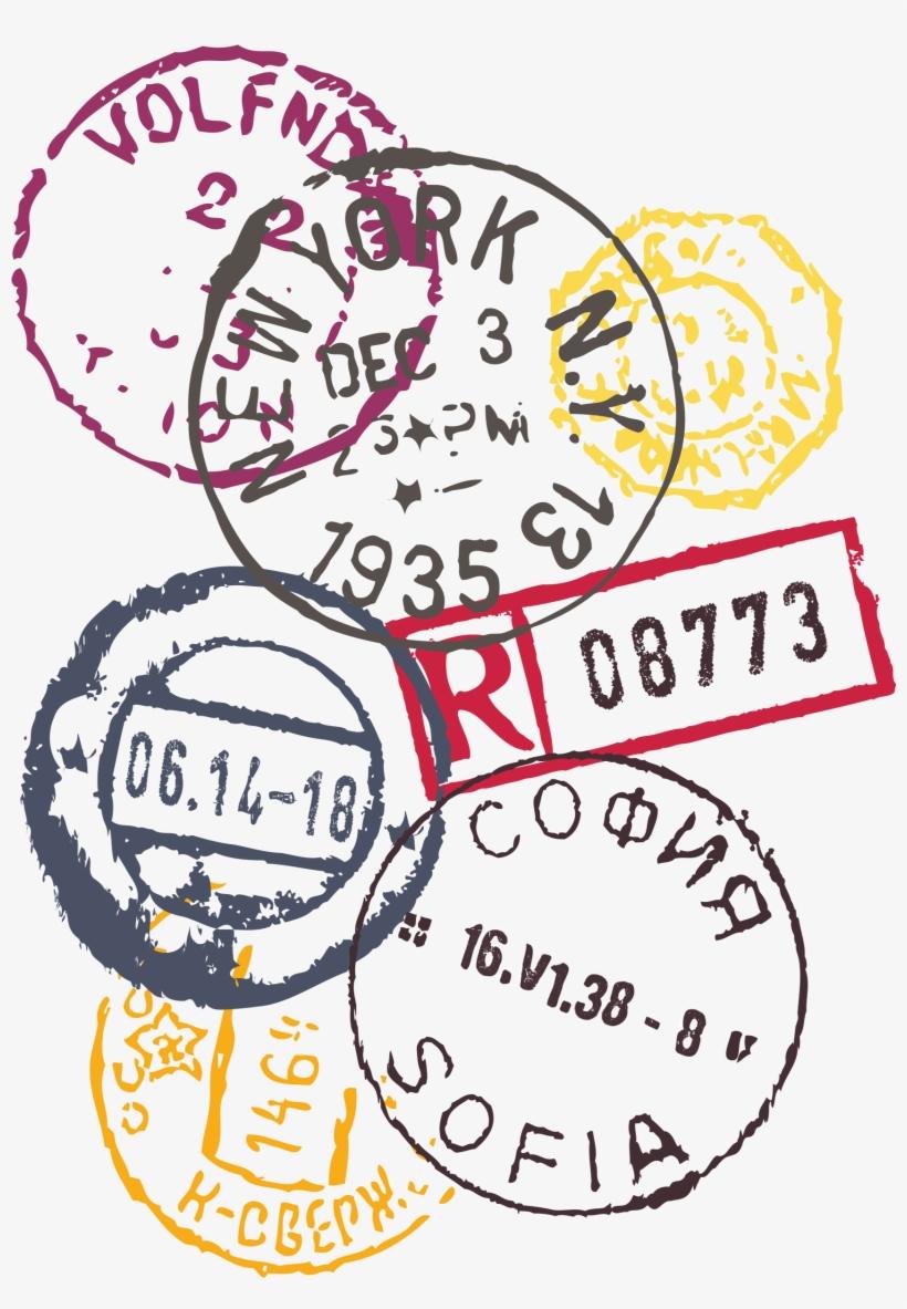 Passport Stamp Png (+).