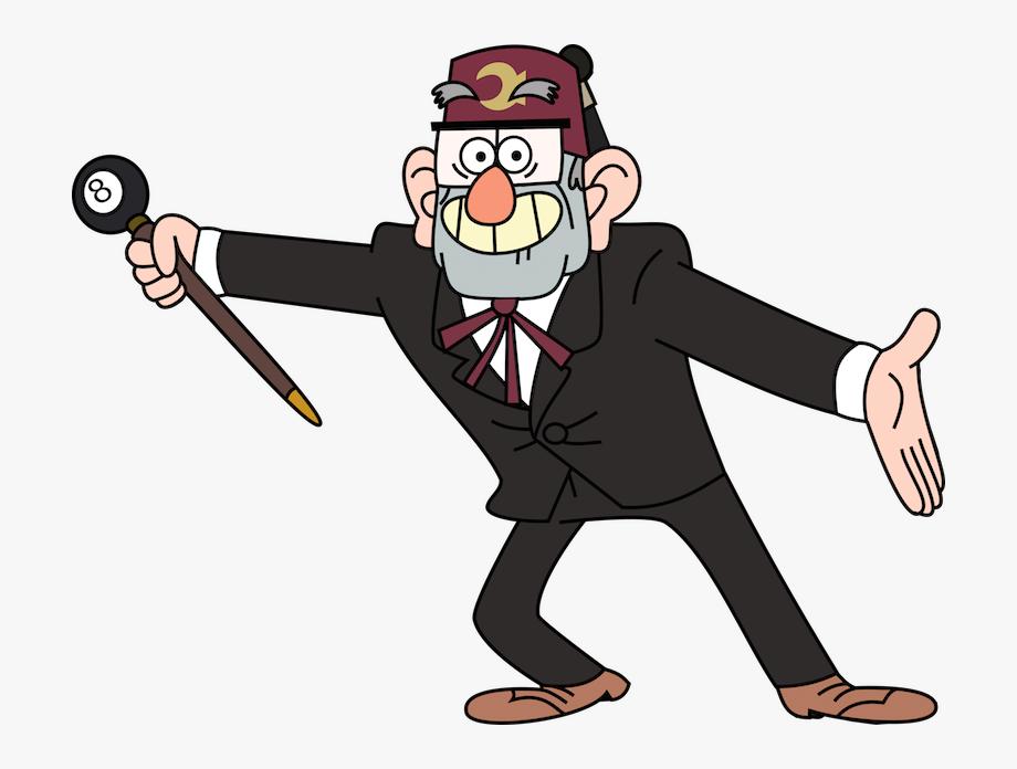 Grunkle Stan.