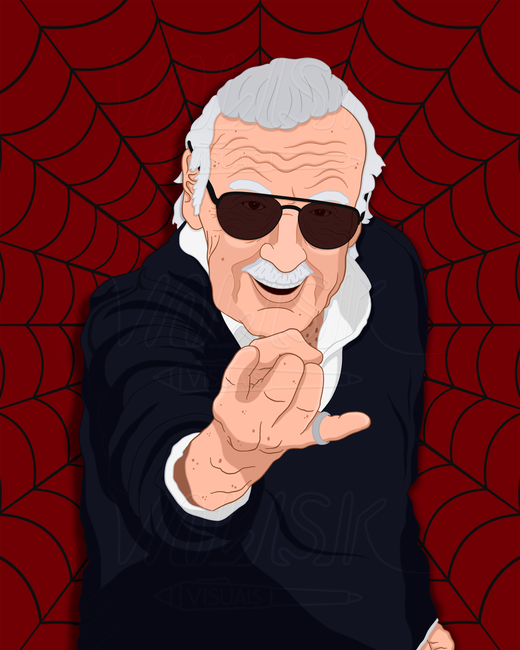 In honor of Stan Lee, I made this [FANART] : marvelstudios.