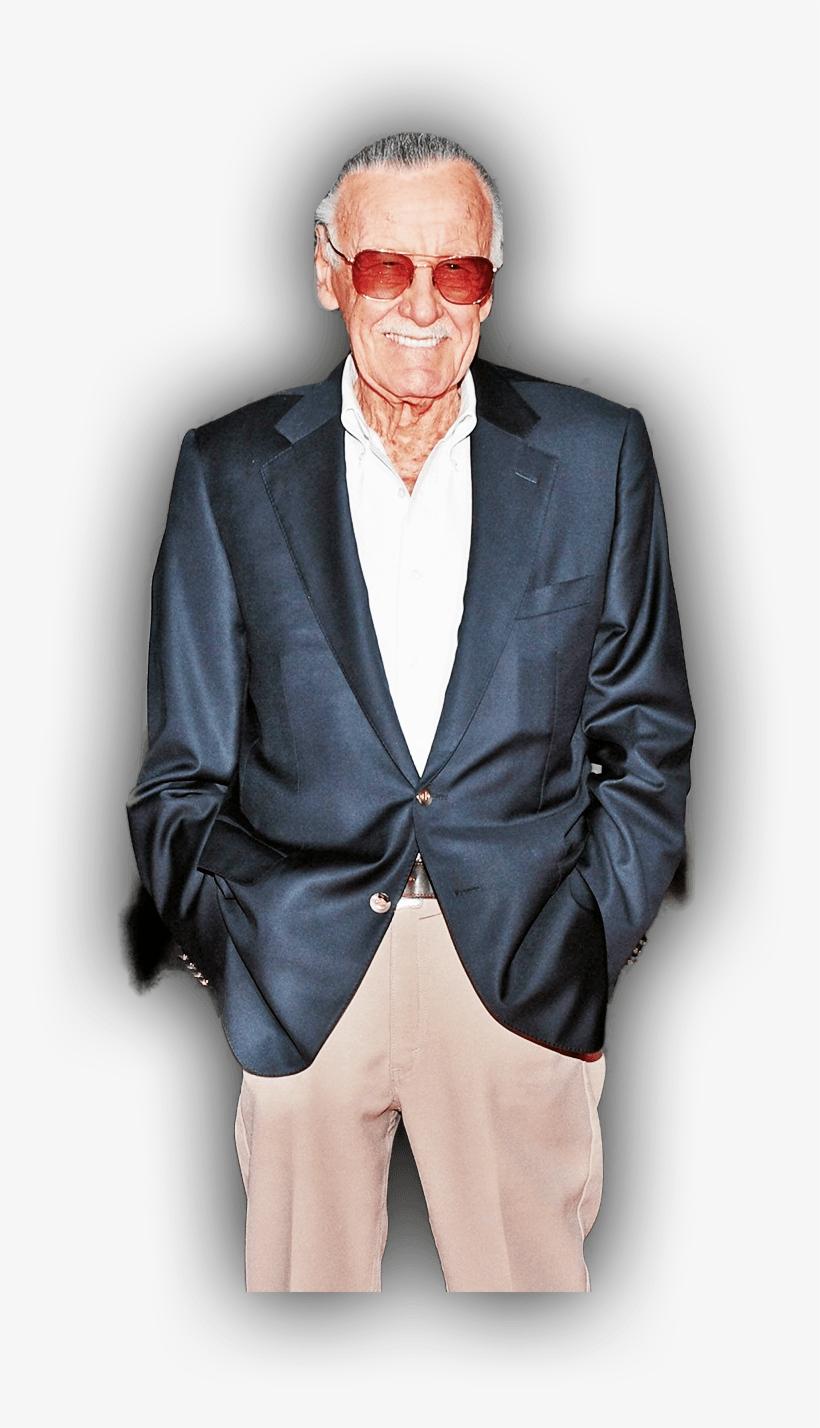 Stan Lee PNG Image.