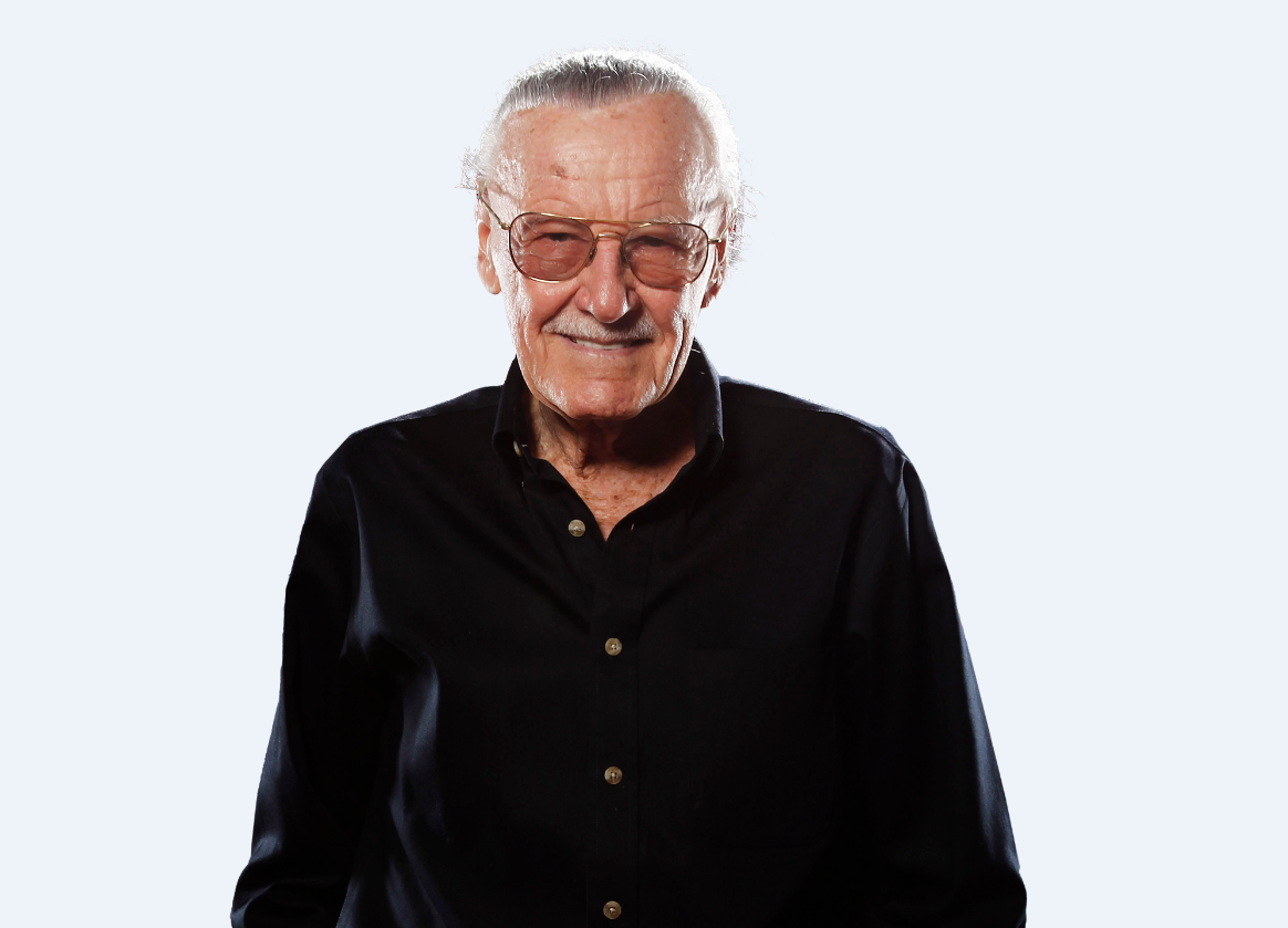 Stan Lee, father of Marvel Comics, dies at 95.