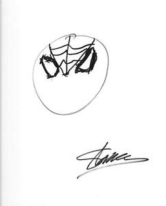 Details about STAN LEE AUTOGRAPH & HAND DRAWN SKETCH SPIDER.
