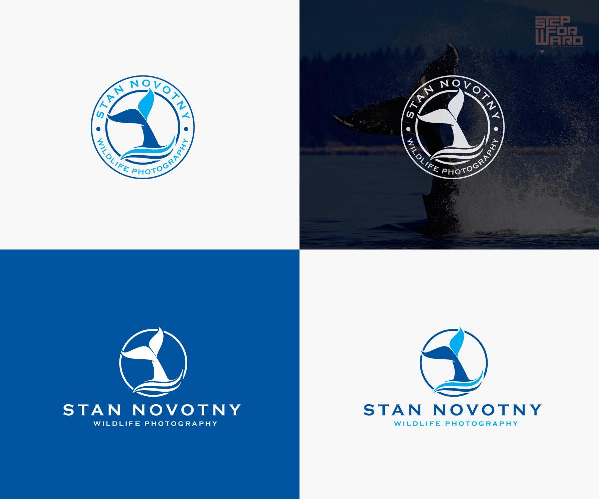 Serious, Bold, Photographer Logo Design for Stan Novotny.