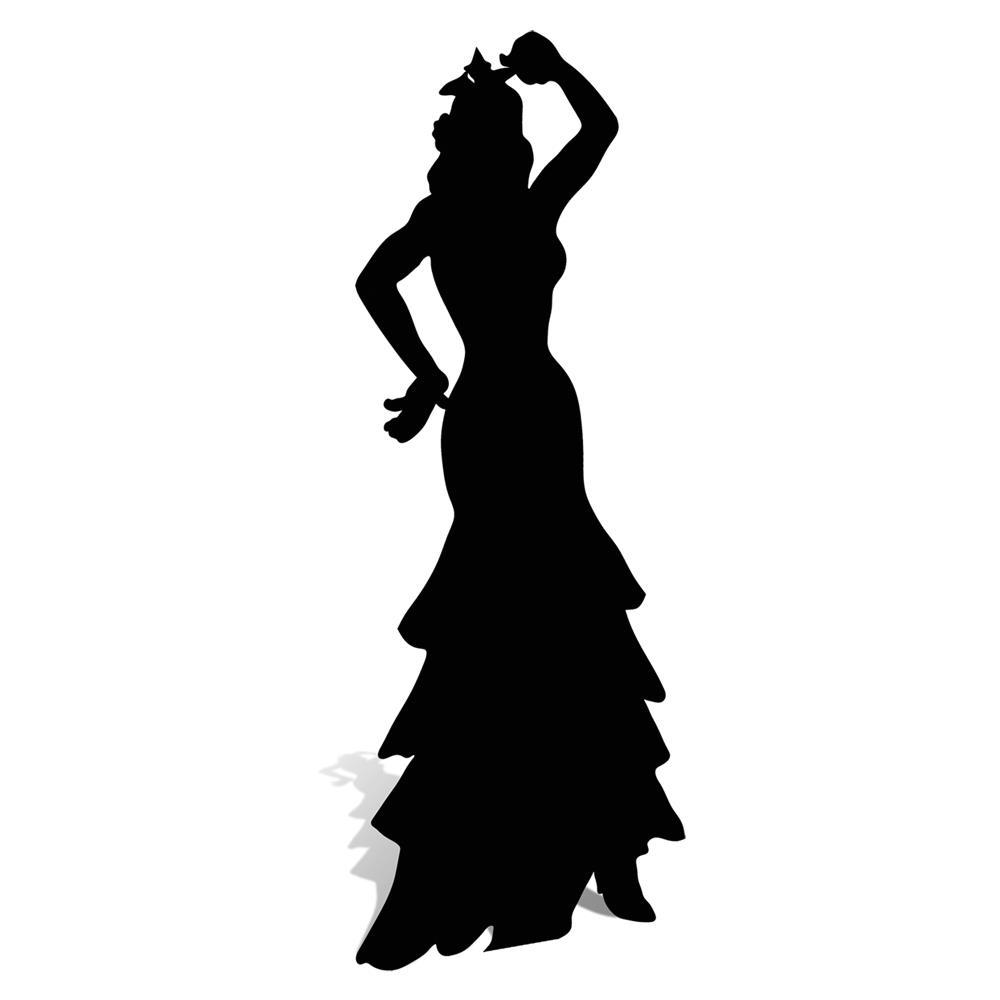 Dancer Sillouette.