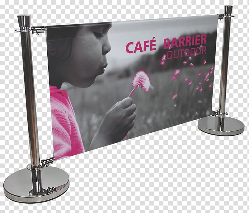 Banner Printing Promotion Sales Display stand, Cafe banner.
